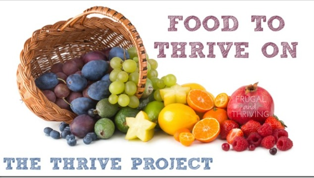 food to thrive on – healthy eating for the good life
