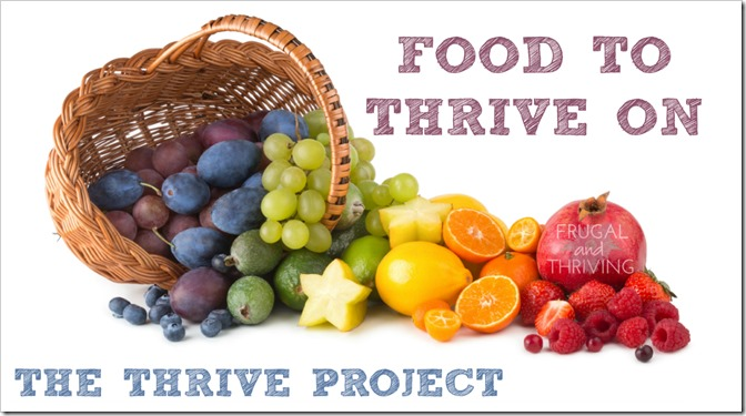 foods to thrive on