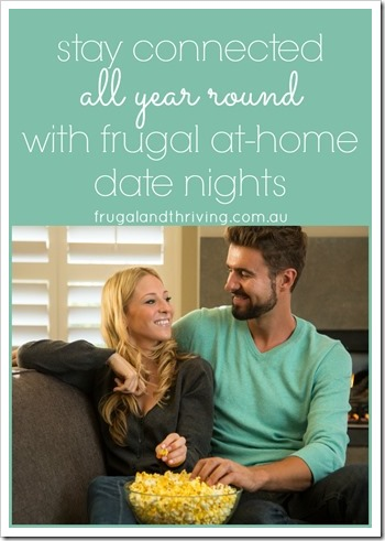 Frugal at home date nights