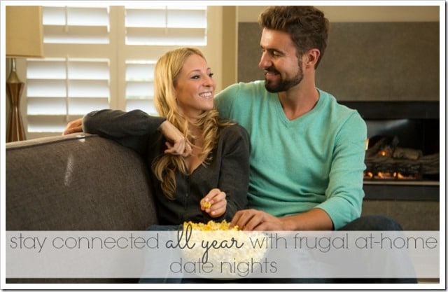 Frugal date nights at home