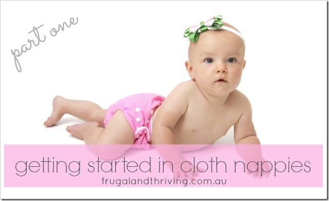 cloth nappies part one