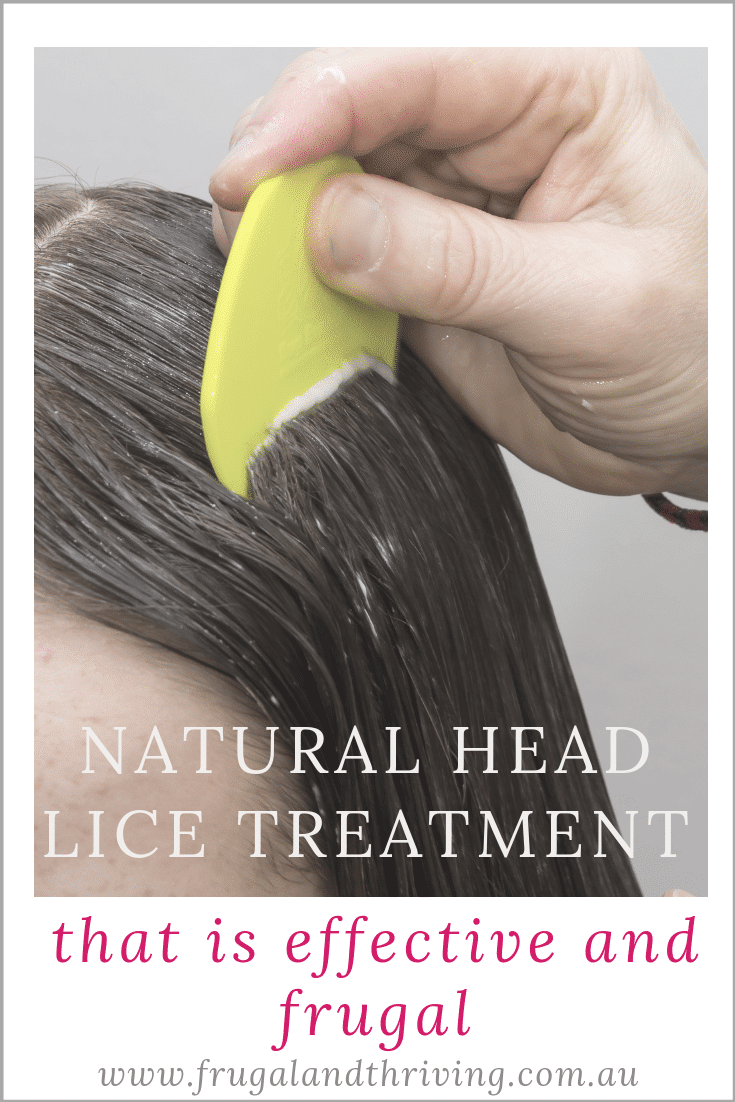 Get rid of head lice without spending a heap of money on chemicals with this natural