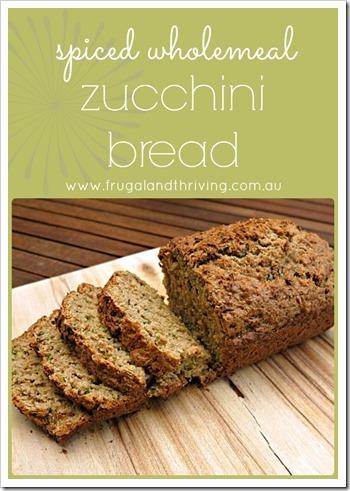 zucchini bread pinterest