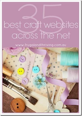35 best craft websites across the net