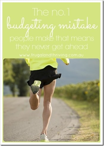 No. 1 Budgeting Mistake