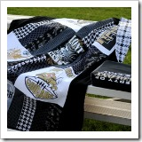 Stadium Blanket Cushion Combo | Bag Tutorial Roundup | Frugal and Thriving