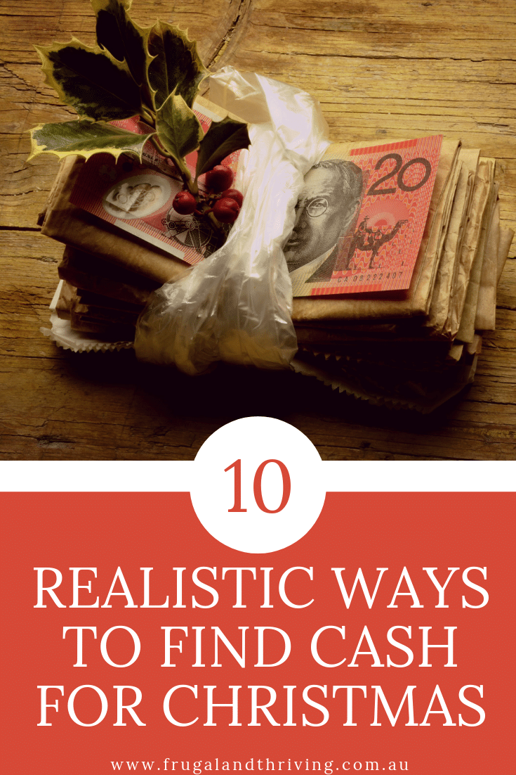 Ten realistic ways to find extra cash for christmas
