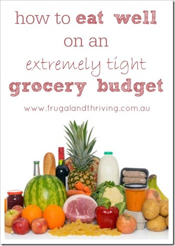 eat well on a tight grocery budget