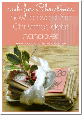 how to avoid the Christmas debt hangover