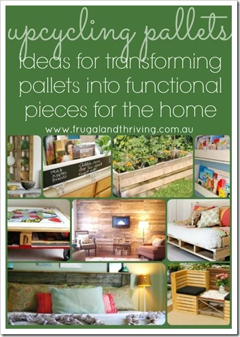ideas for upcycling pallets