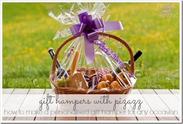 make a personalised gift hamper