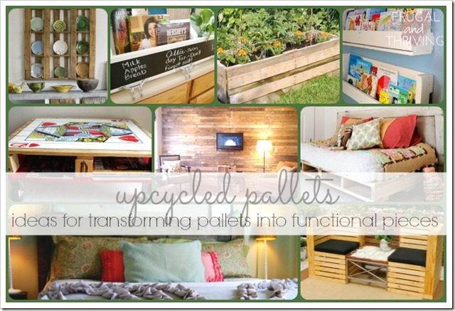 upcycling pallets ideas