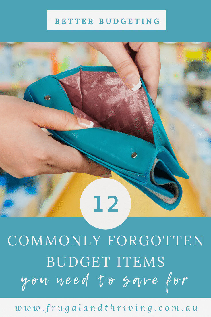 6 Commonly Forgotten Budget Items You Need To Save For