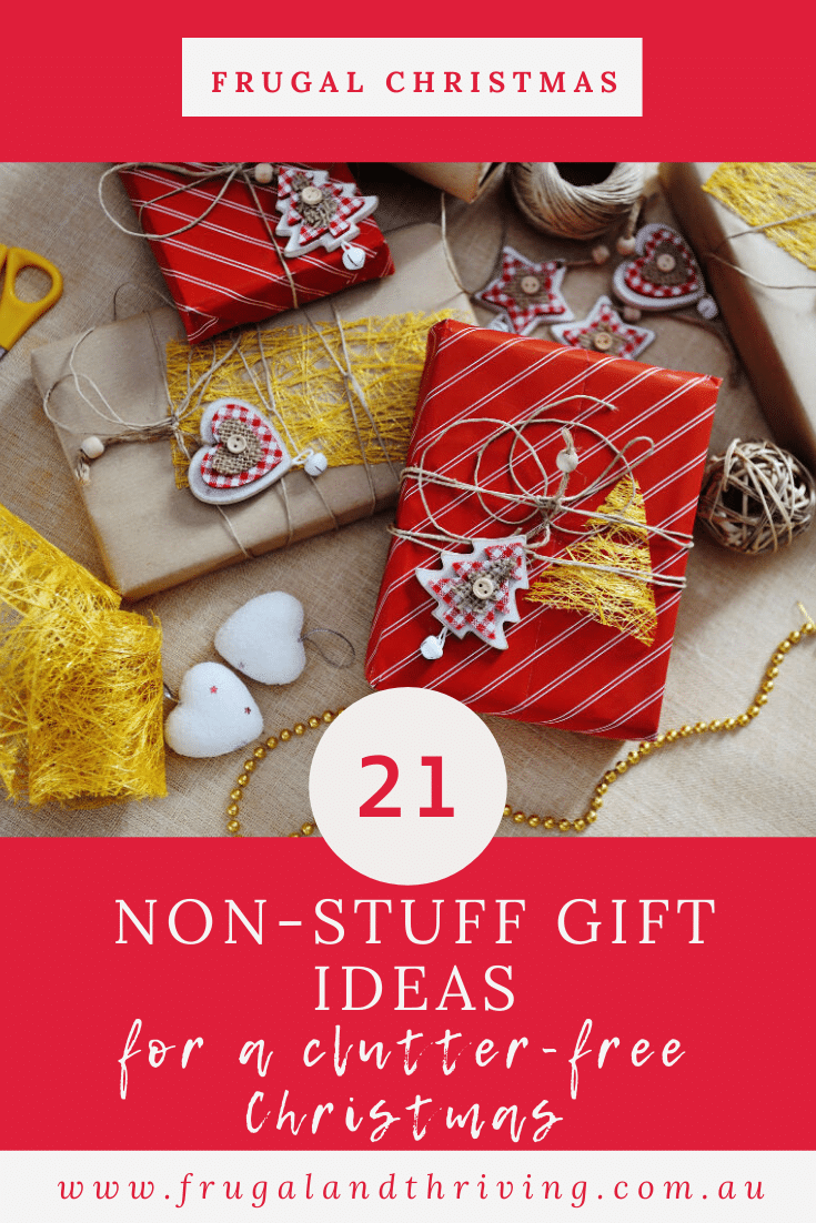 Have Yourself a Clutter-Free Christmas – 21 Non-Stuff Gift Ideas