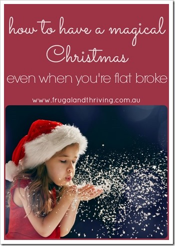 Christmas when you're broke