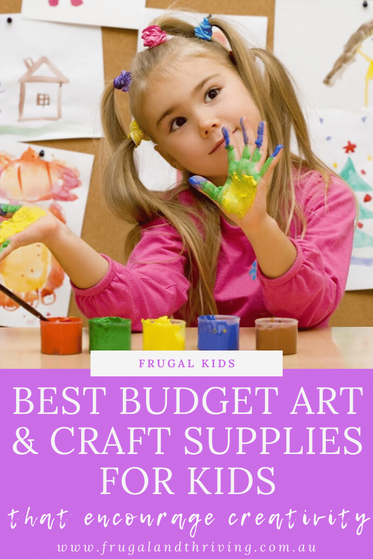 14 of the Best Budget Art and Craft Supplies for Kids