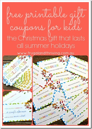 free printable gift coupons for kids