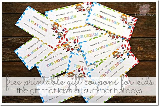 gift coupons for kids free printable