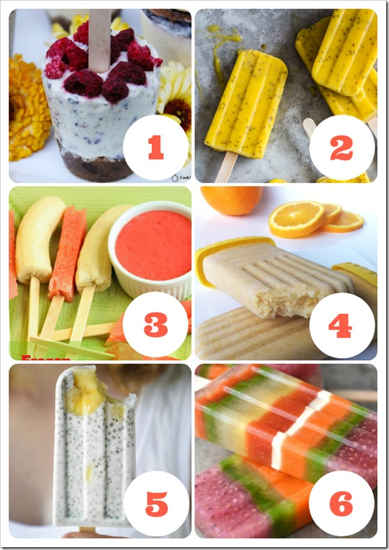 healthy ice block recipes that will hit the spot this summer