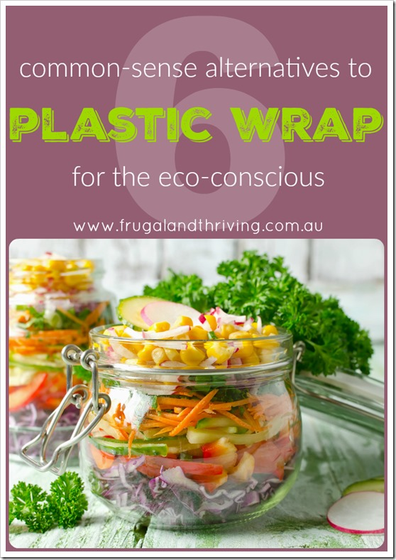 common sense alternatives to cling wrap