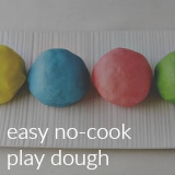 easy no-cook play dough