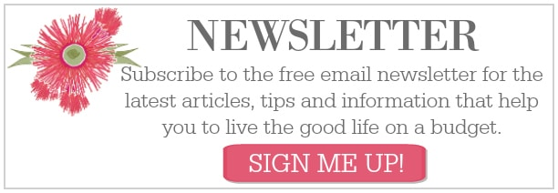 Frugal and Thriving Newsletter