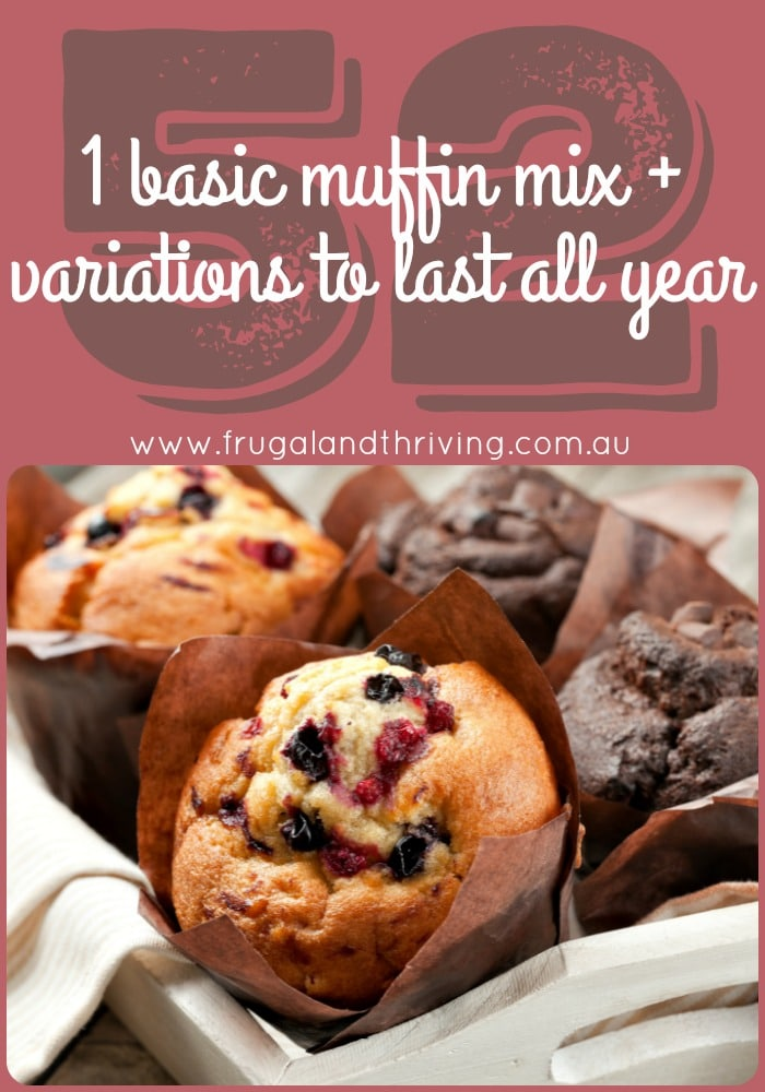1 basic muffin mix with 52 variations