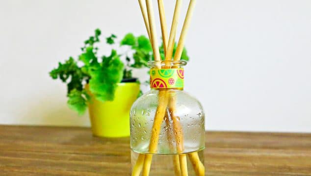 DIY Reed Diffuser For Less Than $5 And In Less Than 5 Mins