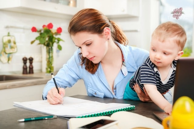 find time to study as a mother