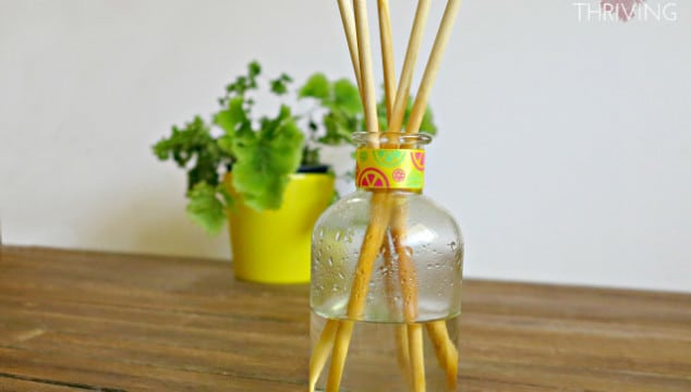 A DIY Reed Diffuser For Less Than $5 And In Less Than 5 Minutes