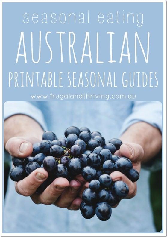 australian printable seasonal guides