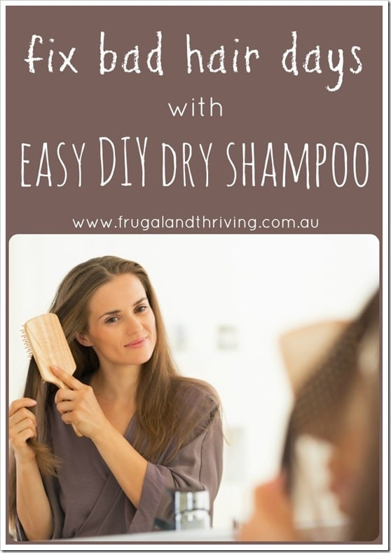 easy diy dry shampoo