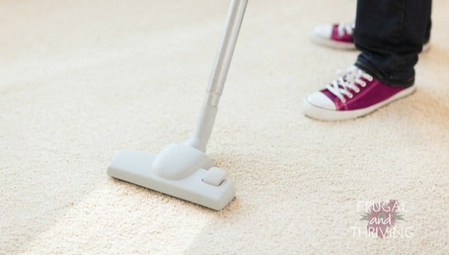 Homemade natural carpet deodoriser for a naturally cleaner home