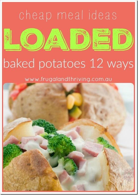 loaded baked potato ideas