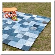 Easy-Water-Resistant-Upcycled-Jeans-Picnic-Blanket-house of handmade
