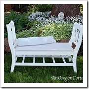 French-styled bench an oregon cotton