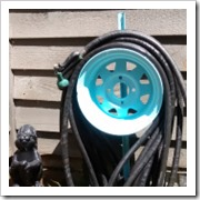 car rim tire hose reel homestead heroine