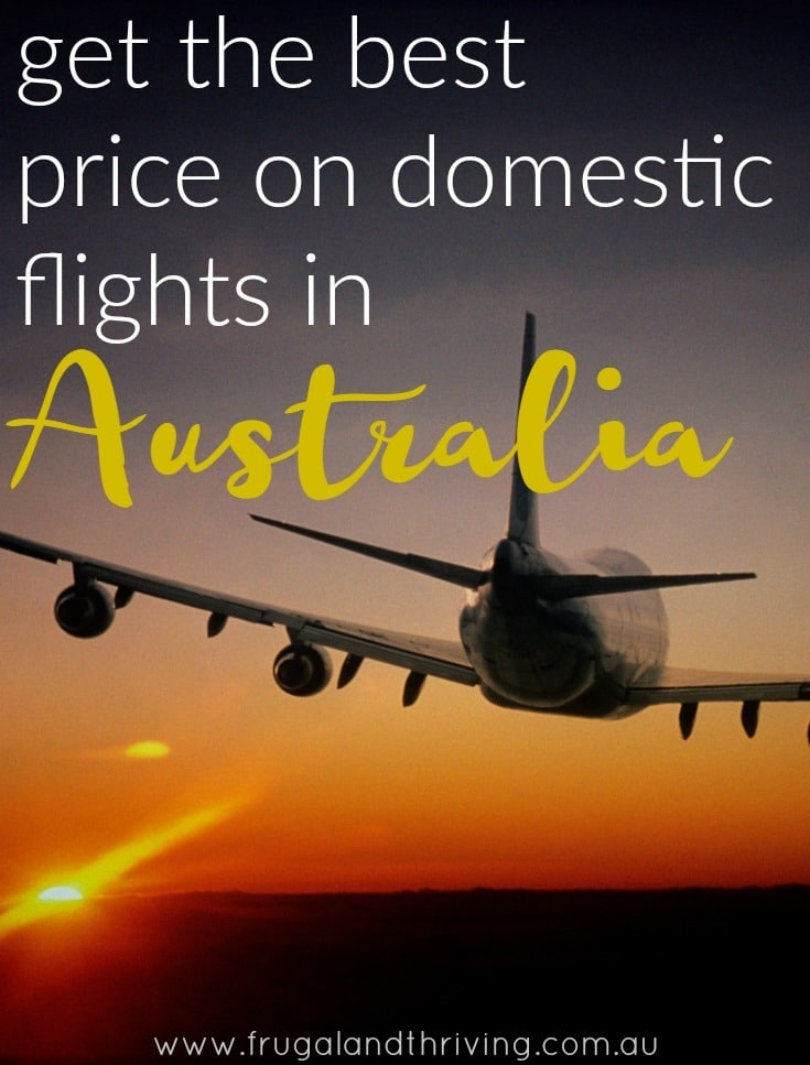 cheap domestic flights in Australia
