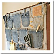 denim wall organiser redoit yourself inspirations