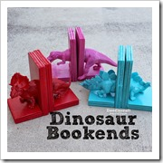 dionsaur book ends doodle craft blog
