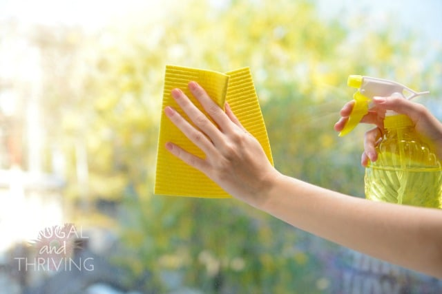 Natural DIY Glass Cleaner for Glistening Windows and Mirrors