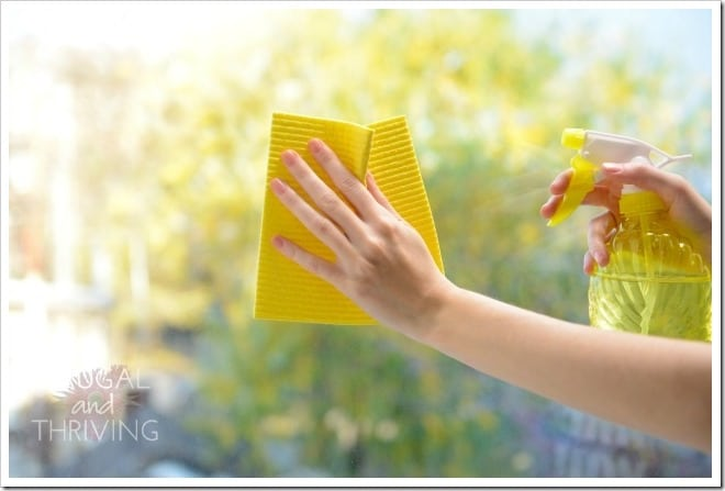 easy diy window cleaner