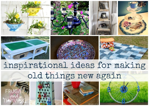 40+ Inspiring Repurposing Ideas for Making Old Things New Again