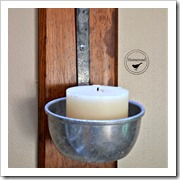ladle candle holder homeroad