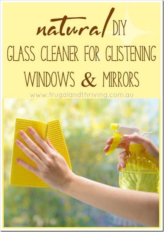 natural diy glass cleaner