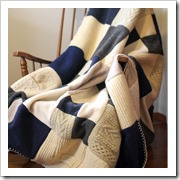 old jumpers to blanket yellow suitcase studios