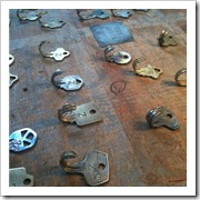 old keys to hooks makezine