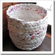 plastic bags to basket instructibles