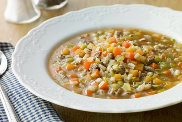 ... week in a bone and barley broth (otherwise known as Scotch Broth