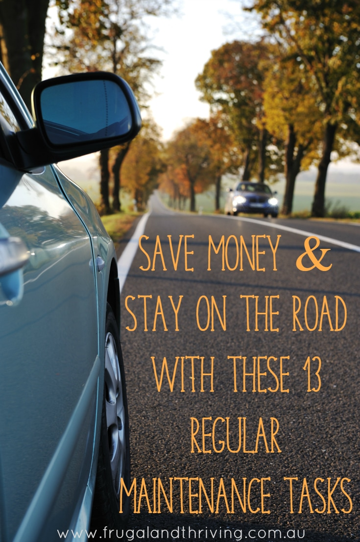 save money with these regular car maintenance tasks